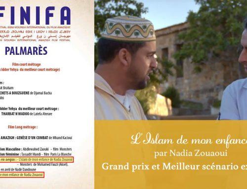 Islam de mon enfance au FINIFA 2019 : Grand prix et Meilleur scénario ex-aequo